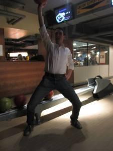 Rupert bowling